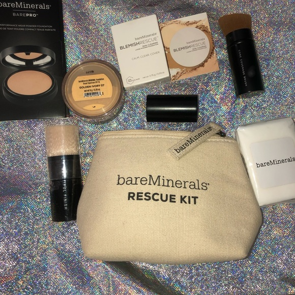 Bare Minerals 2x powder & 2x brush amazing deal